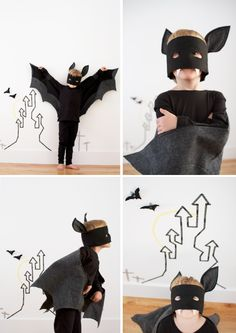 Fantastic roundup of the coolest halloween bats out there. Crafts, Home decor, and much more!