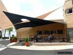 Shade Awnings Product | Custom Tension Structures Solar Shades and Screens