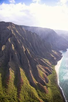 Napali Coast. North