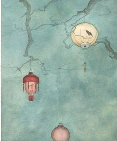 çizgili masallar: Le rossignol et l'empereur by Quentin Gréban