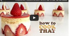 STRAWBERRY FRAISIER DESSERT RECIPE How To Cook