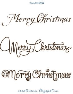 free digital stamps word art merry christmas happy new year labels for