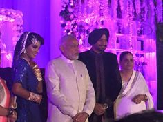 Photos: Harbhajan Singh and Geeta Basra Reception http://apnewscorner.com/photos-harbhajan-singh-and-geeta-basra-reception/