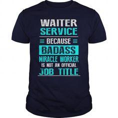 WAITER SERVICE T Shirts, Hoodies. Get it now ==► https://www.sunfrog.com/LifeStyle/WAITER-SERVICE-Navy-Blue-Guys.html?41382
