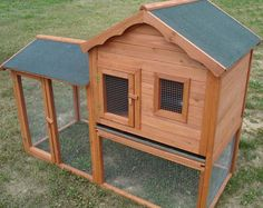Bunny hutch (only pinning picture for the picture, link does not take you to blueprints to make hutch).