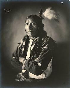 Blue Horse. Sioux. 1908.