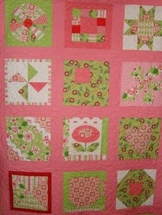 Divinely Sweet Sampler Quilt: Sugar & Spice by The Quilted Fish for Riley Blake Designs #rileyblakedesigns #thequiltedfish #sugarandspice #fabric #quilt