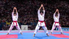 (1/2) Karate Japan vs Italy. Final Female Team Kata. WKF World Karate Ch...