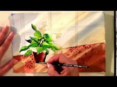 Watercolor for Beginners (Episode 16): Window Garden in Watercolor with Jan Fabian Wallake
