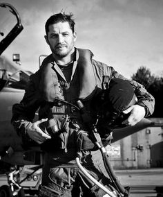 Tom Hardy flying a tornado for The Military awards -2013