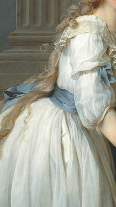 Portrait of Antoine-Laurent and Marie-Anne Lavoisier Jacques-Louis David Date: 1788 Style: Neoclassi. Angel Aesthetic, Aesthetic Vintage, Aesthetic Art, Aesthetic Pictures, Aesthetic Outfit, Aesthetic Drawing, Aesthetic Clothes, Aesthetic Black, Aesthetic Makeup