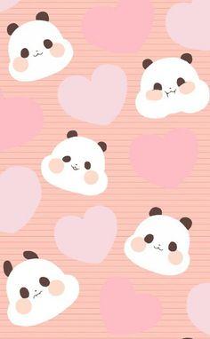 Panda Wallpaper Iphone, Cute Panda Wallpaper, Panda Wallpapers, Cute Wallpaper Backgrounds, Cool Wallpaper, Cute Wallpapers, Panda Kawaii, Baby Panda Bears, Baby Pandas