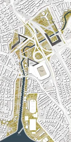 exploded map diagram urban design - Google Search #landscapearchitecture #UrbanDesignplan