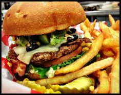 What says Wisconsin more then the Bucky Badger Burger?