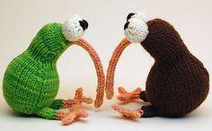 knitted toys...<3 'em