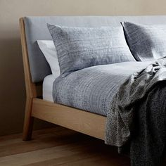 BuyDesign Project by John Lewis No.049 Bed Frame, Super King Size, Oak/Grey Online at johnlewis.com