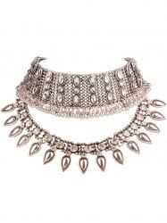 SHARE & Get it FREE | Retro Tiered Geo Beads Layered Teardrop Resin Rhinestone Choker For WomenFor Fashion Lovers only:80,000+ Items • New Arrivals Daily • Affordable Casual to Chic for Every Occasion Join Sammydress: Get YOUR $50 NOW!