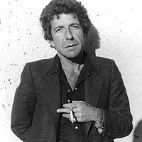 Leonard Cohen. One fine looking man. Regardless of his age.