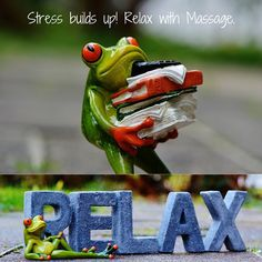#Stress builds up! #Relax with Massage Join the Massage Marketing Content Club…