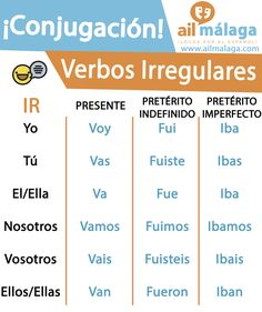 ir verbo irregular