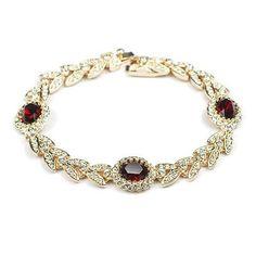 Genuine Austrian Crystal Luxurious Austrian Crystal Stellux Bracelet | Stylish Beth