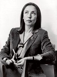 ORIANA FALLACI, writer, (Firenze, 1929 – Firenze, 2006)