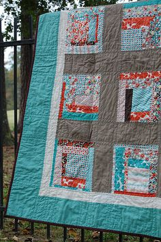 vintage modern quilts blog- some day I will have courage to crazy piece with wild abandon!