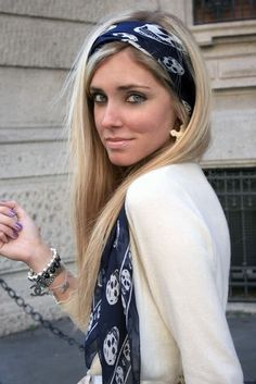How To Wear the Alexander McQueen Skull Scarf || http://style-rx.ca