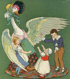 Mother Goose ill by Frederick Richardson    Illustrated by Fredrick Richardson. 1915