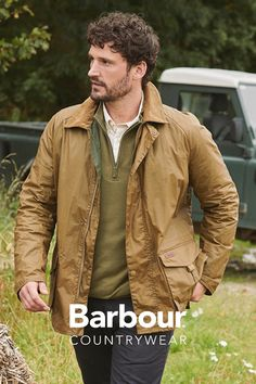 Country Attire stocks a wide range of Barbour Clothing & Accessories at the best price. ➡Free delivery & Free returns Green Suit Men, Barbour Clothing, Black Outfit Men, Countryside Fashion, First Date Outfits, Barbour Jacket, Country Attire, Casual Wear For Men, Laid Back Style