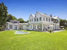 Hamptons house back view :)