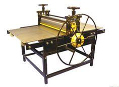 Halepress etching presses, intaglio presses, lithography presses