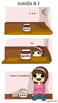 my love for nutella
