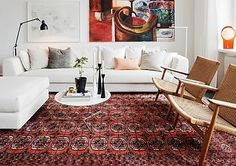 Cheap Carpet Runners By The Foot - Black Carpet List - Indian Living Rooms Interior Design Living Room Warm, Living Room Red, Living Room Colors, Living Room Modern, Living Room Carpet, Stylish Flooring, Persian Carpet Living Room, Rugs In Living Room, Living Room Designs