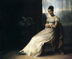 Gericault's Portrait de Laure Bro