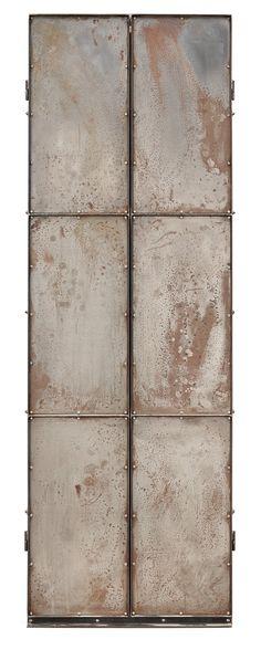 Jonas Bohlin, 'Slottsbacken' Oak and Iron Cabinet, 1987.