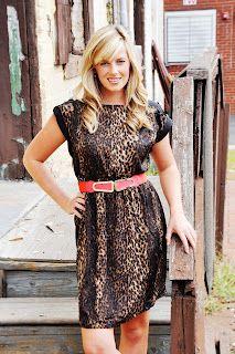 leopard dress  adella apparel: fall arrivals...