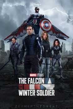 The Falcon and The Winter Soldier by ZeynepTheGreat on DeviantArt Marvel Show, Marvel Comic Universe, Marvel Series, Marvel Cinematic Universe, Marvel Comics, Marvel Avengers, Marvel Comic Character, Marvel Characters, Bucky Barnes