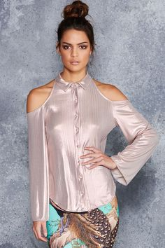 DREAMPIECE S The Rose Gold Roguish Top - LIMITED ($110AUD) by BlackMilk Clothing