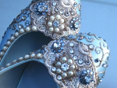 Items similar to Golden Vines Bridal Heels Wedding Shoes - Any Size - Pick your own shoe color and crystal color on Etsy Bridal Heels, Wedding Shoes Heels, Bride Shoes, Something Blue Bridal, Cinderella Wedding, Fancy Shoes, Bride Accessories, Crystal Jewelry, Marie