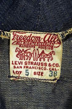 Levi Strauss & Co. Freedom-Alls Women's Wear Lot 5, 1919