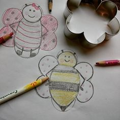 Flour Box Bakery — How to Decorate a Cute Chubby Bee Cookie