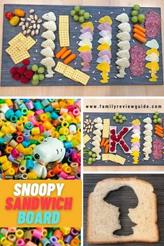 Snoopy Sandwich Board - Family Review Guide