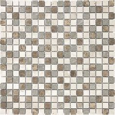 Anatolia - Countryside Blend Mosaics - 5/8 Inches x 5/8 Inches - 76-159 - Home Depot Canada