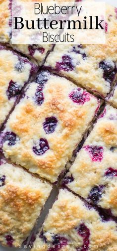 Breakfast Recipes Blueberry Buttermilk Biscuits with a warm Blueberry Sauce Breakfast Appetizers, Breakfast Bread Recipes, Breakfast Biscuits, Breakfast Dessert, Breakfast Casserole, Blueberry Breakfast, Breakfast Ideas, Dessert Biscuits, Desserts With Biscuits