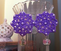 Berenike's Hobby  http://berenikehobby.blogspot.it/2013/10/lilac-earrings.html