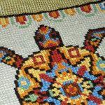 "<!--:en-->Finally did it! The Mayan Turtle embroidery :)<!--:--><!--:ru-->Этническая черепаха в стиле ""Майя"" – готовая вышивка<!--:-->"