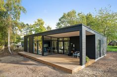 Amazing Unique Nature Newly Built Holiday Home Close To The Water Tiny House Cabin, Tiny House Living, Tiny House Design, Tiny Houses, Spanish House, Modular Homes, Architect Design, House Plans, Interior Decorating