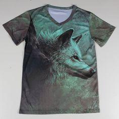 The Wolf 3D Print Tshirt