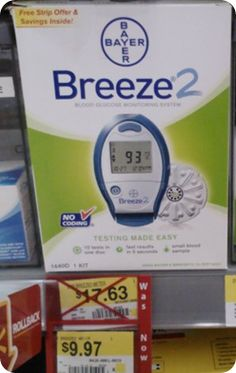 FREE PLUS Money Maker Breeze2 Meter At Walmart!